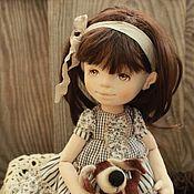 Куклы и игрушки ручной работы. Ярмарка Мастеров - ручная работа Текстильная авторская кукла Аля. Handmade.