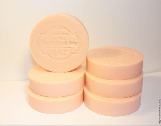 """Мыло ручной работы. Ярмарка Мастеров - ручная работа. Купить """"Грейпфрут с ментолом"""" натуральное мыло с нуля.. Handmade. Оранжевый"""