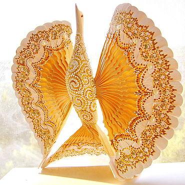 Свадебный салон ручной работы. Ярмарка Мастеров - ручная работа Птица счастья подарок молодой семье. Handmade.
