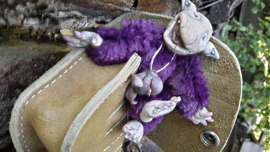 """Сказочные персонажи ручной работы. Ярмарка Мастеров - ручная работа. Купить Авторская кукла """"Лесной Тролик """". Handmade."""