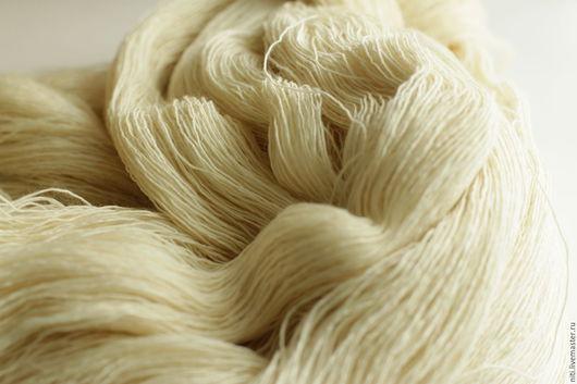 Вязание ручной работы. Ярмарка Мастеров - ручная работа. Купить Filigran неокрашенная тонкая натуральная пряжа 100% меринос пряжа. Handmade.