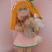 """Куклы и игрушки ручной работы. Ярмарка Мастеров - ручная работа Кукла """"Озорная девочка"""". Handmade."""
