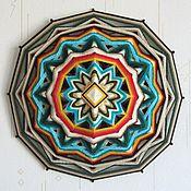 Фен-шуй и эзотерика ручной работы. Ярмарка Мастеров - ручная работа Мандала оберег для дома. Handmade.