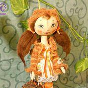 Куклы и игрушки ручной работы. Ярмарка Мастеров - ручная работа кукла текстильная Верочка. Handmade.