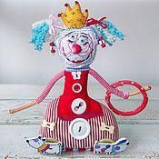 Куклы и игрушки ручной работы. Ярмарка Мастеров - ручная работа Принцесса Цирка текстильная кукла  игрушка ручная работа. Handmade.
