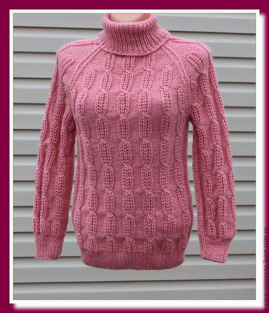 Кофты и свитера ручной работы. Ярмарка Мастеров - ручная работа. Купить Женский вязаный свитер, свитер женский ажурный. Handmade.