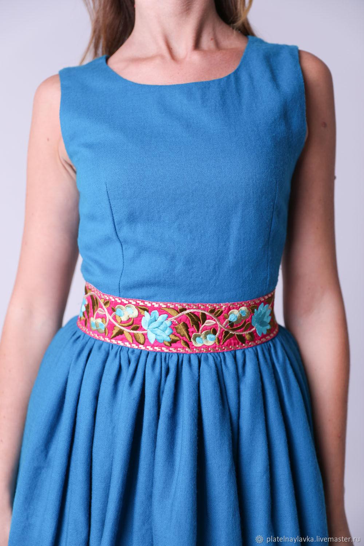Платье шерстяное с вышивкой, Платья, Москва,  Фото №1