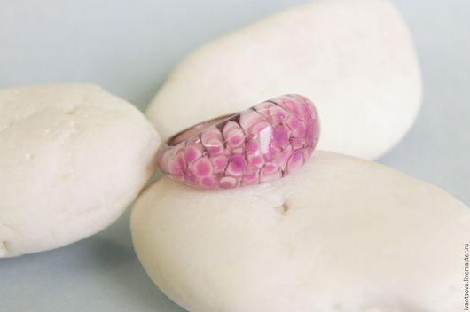 Кольца ручной работы. Ярмарка Мастеров - ручная работа. Купить Кольцо Сирень. Handmade. Розовый, кольцо, мелкий цветочек