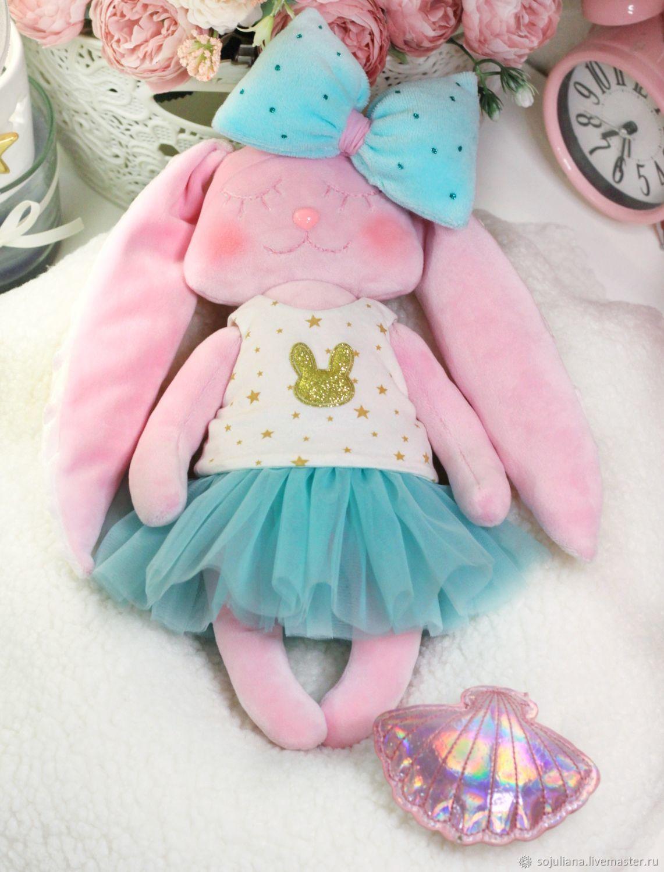 Сплюшка-зайка, Мягкие игрушки, Снежногорск,  Фото №1