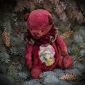 Куклы и игрушки ручной работы. Ярмарка Мастеров - ручная работа Предвестник праздника мишка тедди. Handmade.