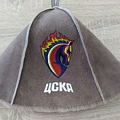 Дача и сад handmade. Livemaster - original item NEW bath Hat (painting/embroidery). Handmade.