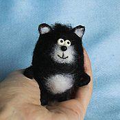 Куклы и игрушки ручной работы. Ярмарка Мастеров - ручная работа Кот Шмяк игрушка. Handmade.