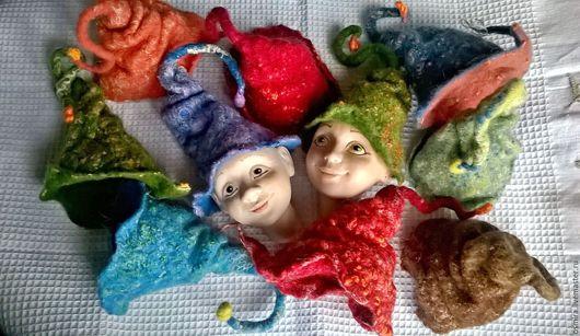 Одежда для кукол ручной работы. Ярмарка Мастеров - ручная работа. Купить Колпачки - крези. Handmade. Кукла ручной работы, зайчик