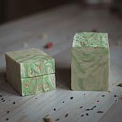 Мыло ручной работы. Ярмарка Мастеров - ручная работа Мыло: Белый чай и имбирь. Handmade.
