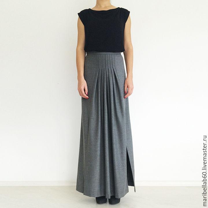 Купить длинную юбку в пол