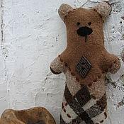 Куклы и игрушки ручной работы. Ярмарка Мастеров - ручная работа мишки из ткани. Handmade.