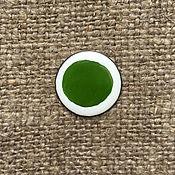 Материалы для творчества handmade. Livemaster - original item Overglaze paint Dulevo No. №5567 dark green. Handmade.