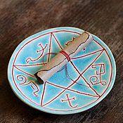 Тарелки ручной работы. Ярмарка Мастеров - ручная работа ловушка для демонов. Handmade.