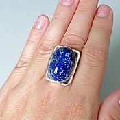 Украшения handmade. Livemaster - original item Ring made of lapis lazuli. Handmade.