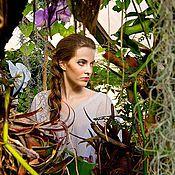 Одежда ручной работы. Ярмарка Мастеров - ручная работа Тропическое платье. Handmade.