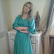 Одежда ручной работы. Ярмарка Мастеров - ручная работа распродажа бохо платье (лен). Handmade.