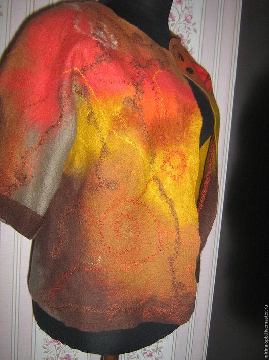 Верхняя одежда ручной работы. Ярмарка Мастеров - ручная работа. Купить Бомбер или легкая курточка. Handmade. Комбинированный