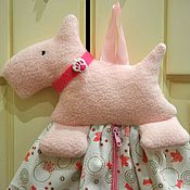 Кармашки на кроватку ручной работы. Ярмарка Мастеров - ручная работа Пижамница для девочки. Handmade.