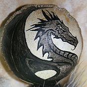 """Фен-шуй и эзотерика ручной работы. Ярмарка Мастеров - ручная работа Шаманская погремушка """"Чёрный Дракон"""". Handmade."""