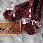 Обувь ручной работы. Ярмарка Мастеров - ручная работа ШОКО... балетки-тапочки (100% хлопок). Handmade.