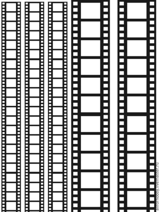 """Открытки и скрапбукинг ручной работы. Ярмарка Мастеров - ручная работа. Купить Пленка-оверлей для скрапбукинга """"Кинопленка"""", 21 х 30 см. Handmade."""