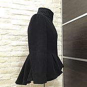 Одежда ручной работы. Ярмарка Мастеров - ручная работа Пальто Баска с кружевом. Handmade.
