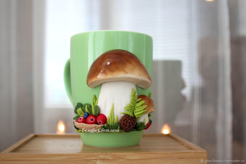Кружка Белые грибы, Кружки, Санкт-Петербург, Фото №1