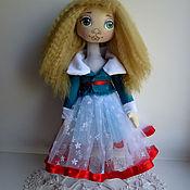 Куклы и игрушки ручной работы. Ярмарка Мастеров - ручная работа Кукла интерьерная текстильная.. Handmade.