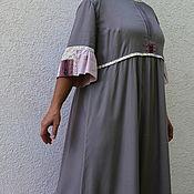 """Одежда ручной работы. Ярмарка Мастеров - ручная работа Платье оверсайз """"Бохо"""". Handmade."""