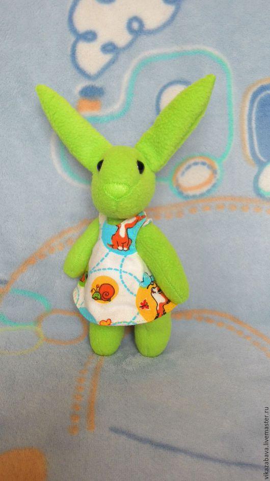 Тедди зайка, игрушка Тедди, друзья Тедди, игрушка в стиле Тедди, мягкая игрушка зайка, зайчик из флиса, мягкая игрушка в подарок, мягкая игрушка зайчик, зайка в платье, зайка в одежде, кукла зайка