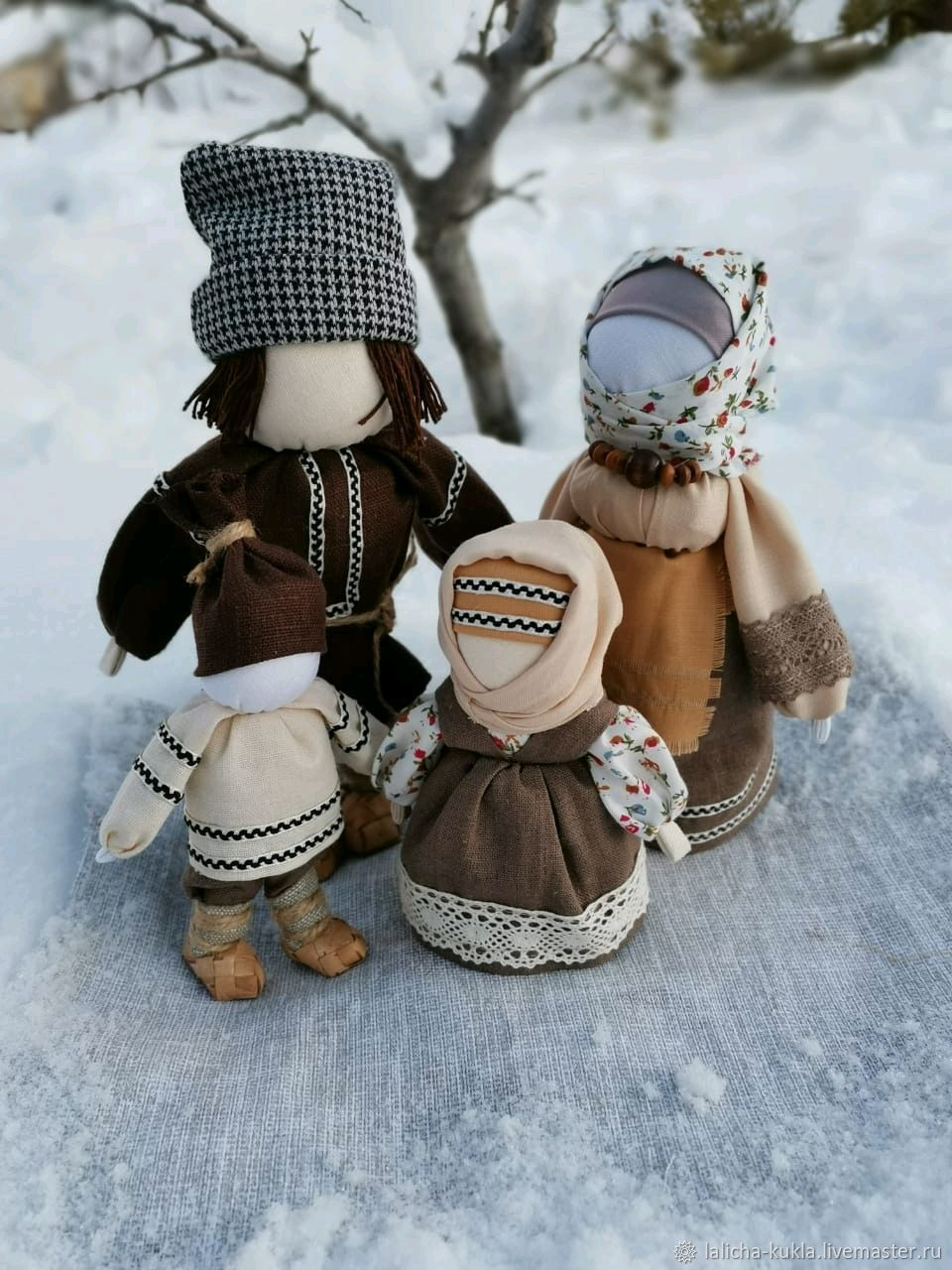 """Куклы обереги""""Вся семья в сборе"""", Народная кукла, Калач-на-Дону,  Фото №1"""