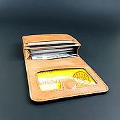 Business card holders handmade. Livemaster - original item Cardholders, Business Card, Credit Card. Genuine leather. Red matte. Handmade.