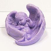 Косметика ручной работы handmade. Livemaster - original item Soap little Angel sleeping in wings.. Handmade.