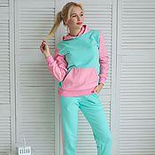 Одежда ручной работы. Ярмарка Мастеров - ручная работа Комплект Розово-мятный. Handmade.
