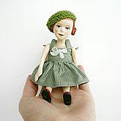 Куклы и игрушки ручной работы. Ярмарка Мастеров - ручная работа Деревянная кукла малышка Лидочка. Handmade.