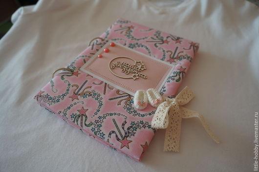 Блокноты ручной работы. Ярмарка Мастеров - ручная работа. Купить Мамин блокнот. Handmade. Розовый, картон