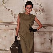 Одежда handmade. Livemaster - original item Retro dress in the style of the 60`s