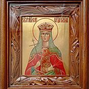 Картины и панно handmade. Livemaster - original item Holy equal to the apostles Empress Helen. Handmade.