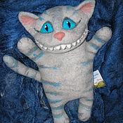 Куклы и игрушки ручной работы. Ярмарка Мастеров - ручная работа перчаточная кукла Чеширский кот. Handmade.