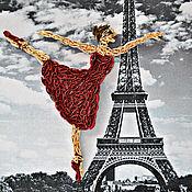 """Картины и панно ручной работы. Ярмарка Мастеров - ручная работа Картина """"Балерина"""". Handmade."""