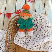 Вальдорфские куклы и звери ручной работы. Ярмарка Мастеров - ручная работа Малышка 14 см Вальдорфская кукла. Handmade.