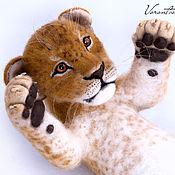 Куклы и игрушки ручной работы. Ярмарка Мастеров - ручная работа Львёночка Аиша. Handmade.
