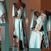 """Одежда ручной работы. Ярмарка Мастеров - ручная работа Шелковое длинное  платье """"Шелковая нежность"""". Handmade."""