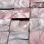Картины и панно handmade. Livemaster - original item Panel hardwood Peony Loft. Wall panel. Panels of Wood. Handmade.