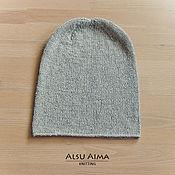 Аксессуары ручной работы. Ярмарка Мастеров - ручная работа 100% Кашемировая шапочка. Handmade.